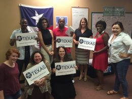 Camp MoTex: Learning to engage our communities through voter registration